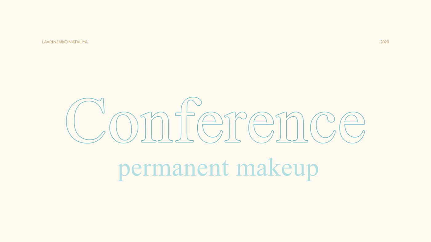 Fashion  fashiondesign дизайнконференции конференциямакияжа миималистичныйдизайн #conference makeup minimal permanent Web