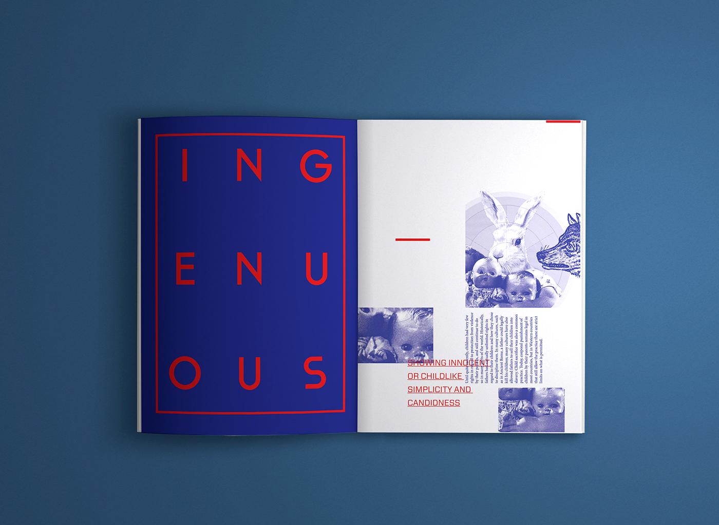 experimental fanzine print Layout editorial design self publication book Booklet magazine journal neon contemporary animals