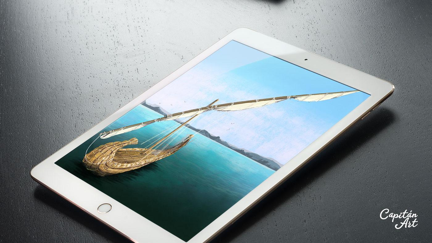 ILLUSTRATION ,concept art,setting,Procreate,iPad,Assassin Creed,origins,ubisoft,playstation,Digital Art
