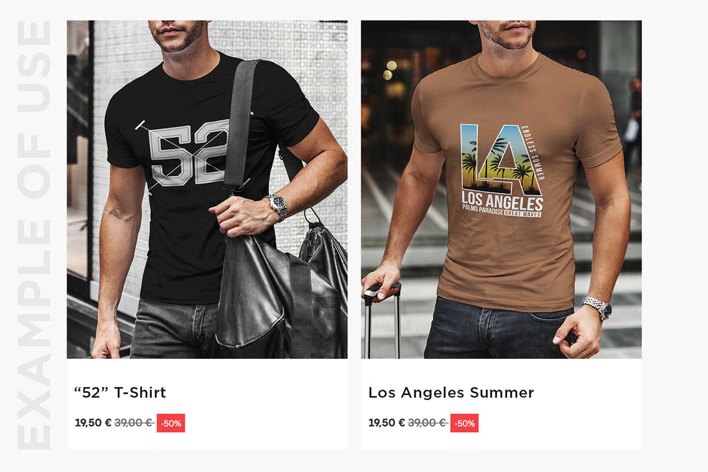 54f7b6e6c04 T-Shirt Mock-Up Casual Style on Behance