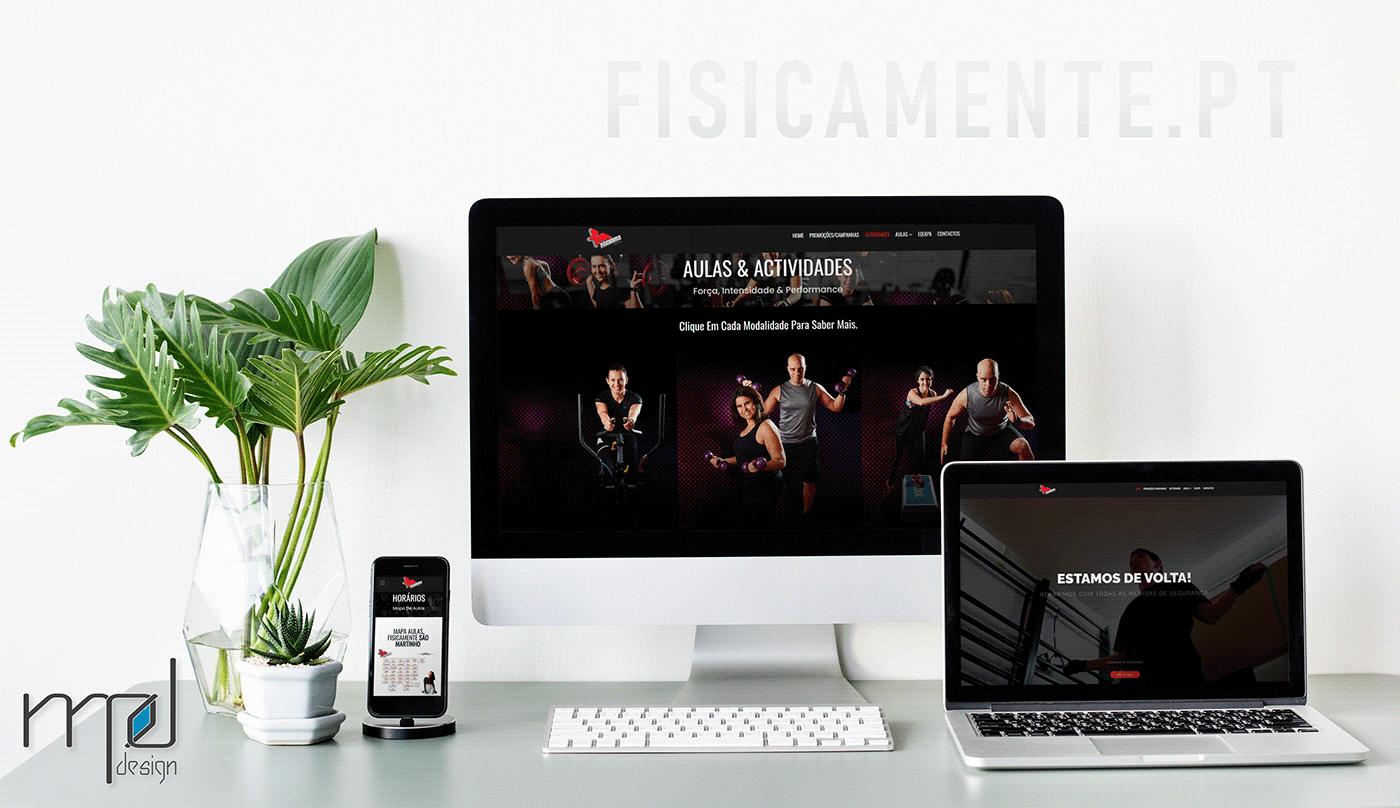 fisicamente MPdesign Web Design
