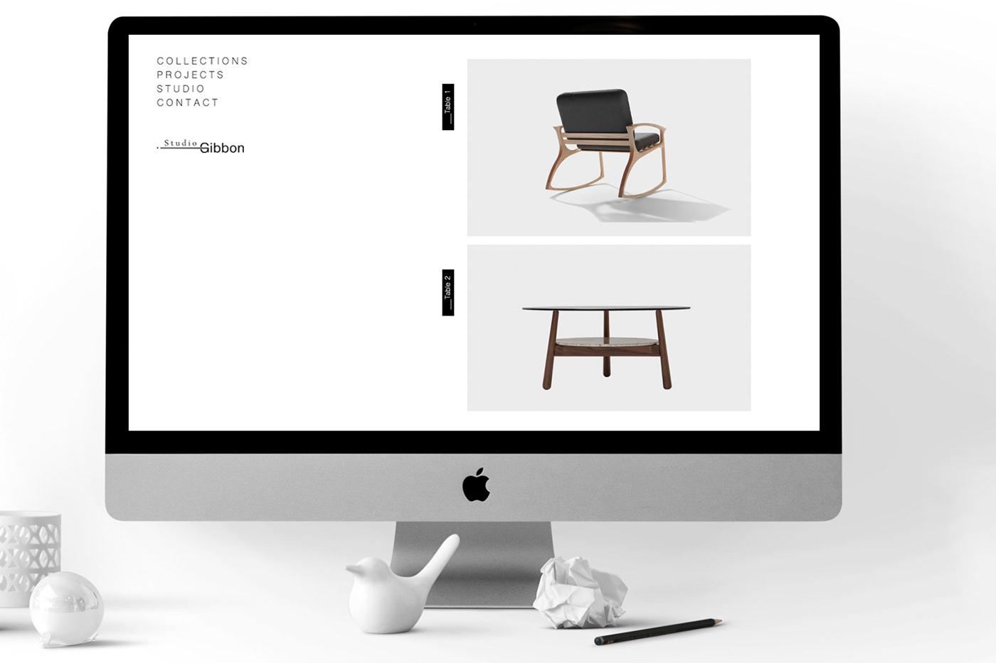 Diseño web Minimalism ux/ui
