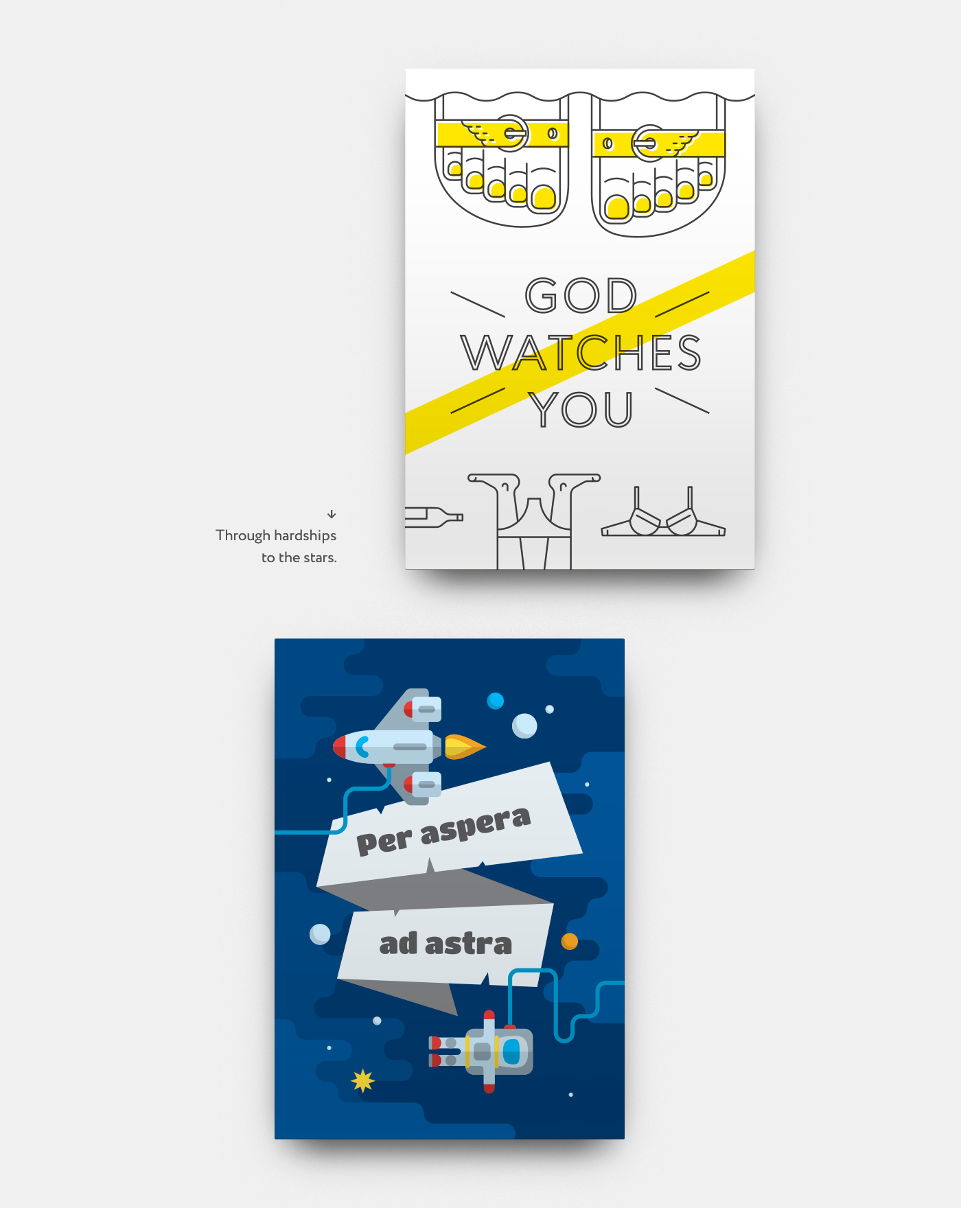 motivation poster Icon vector joke quotation aphorism