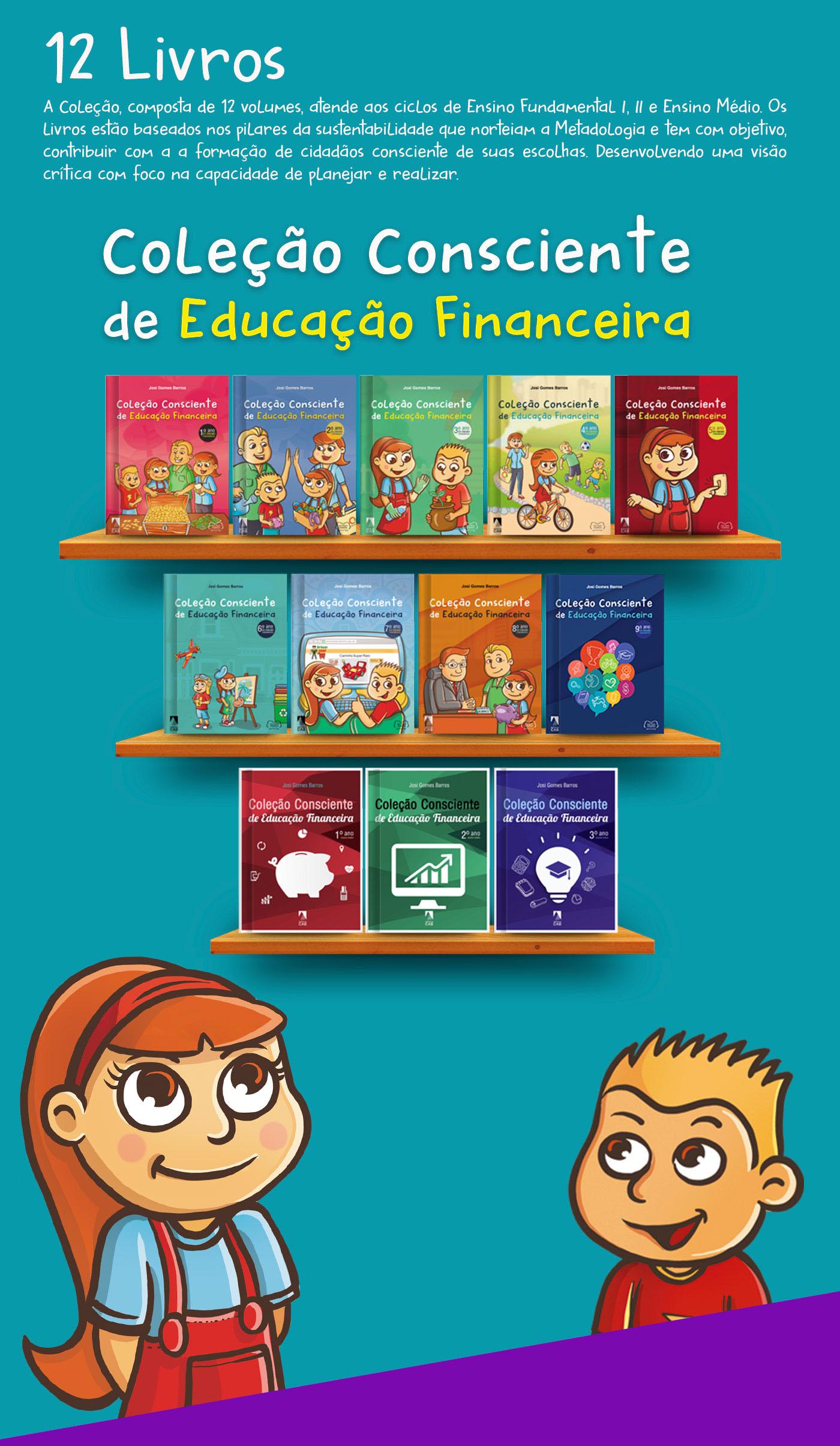 book,Livro,Ilustração,diagramação,coleção,financeira,educação