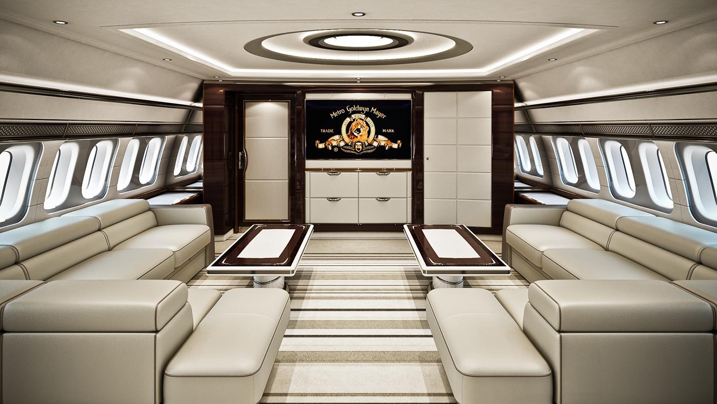 Boeing 777 vip on behance for Boeing 777 interior