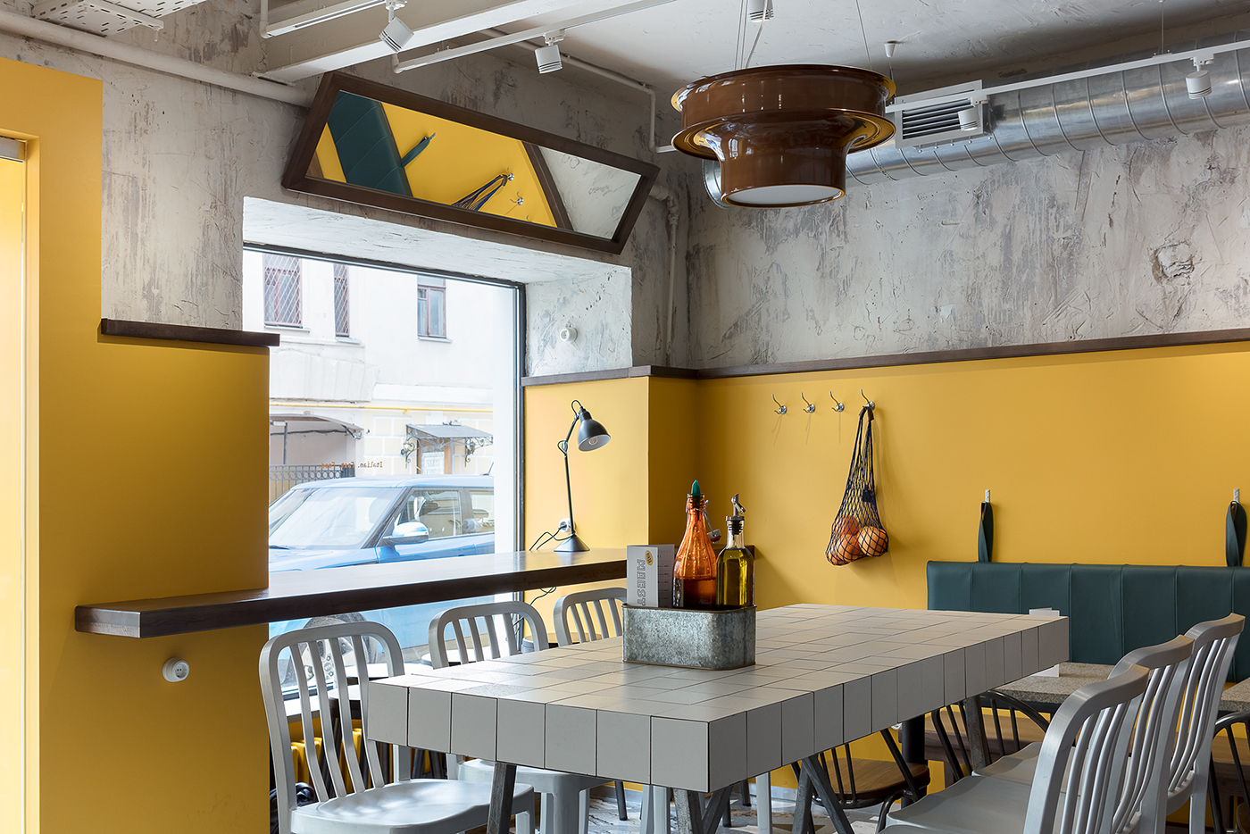 restaurant Pizza cafe bistro menu Food  bar branding  PINSA streetfood