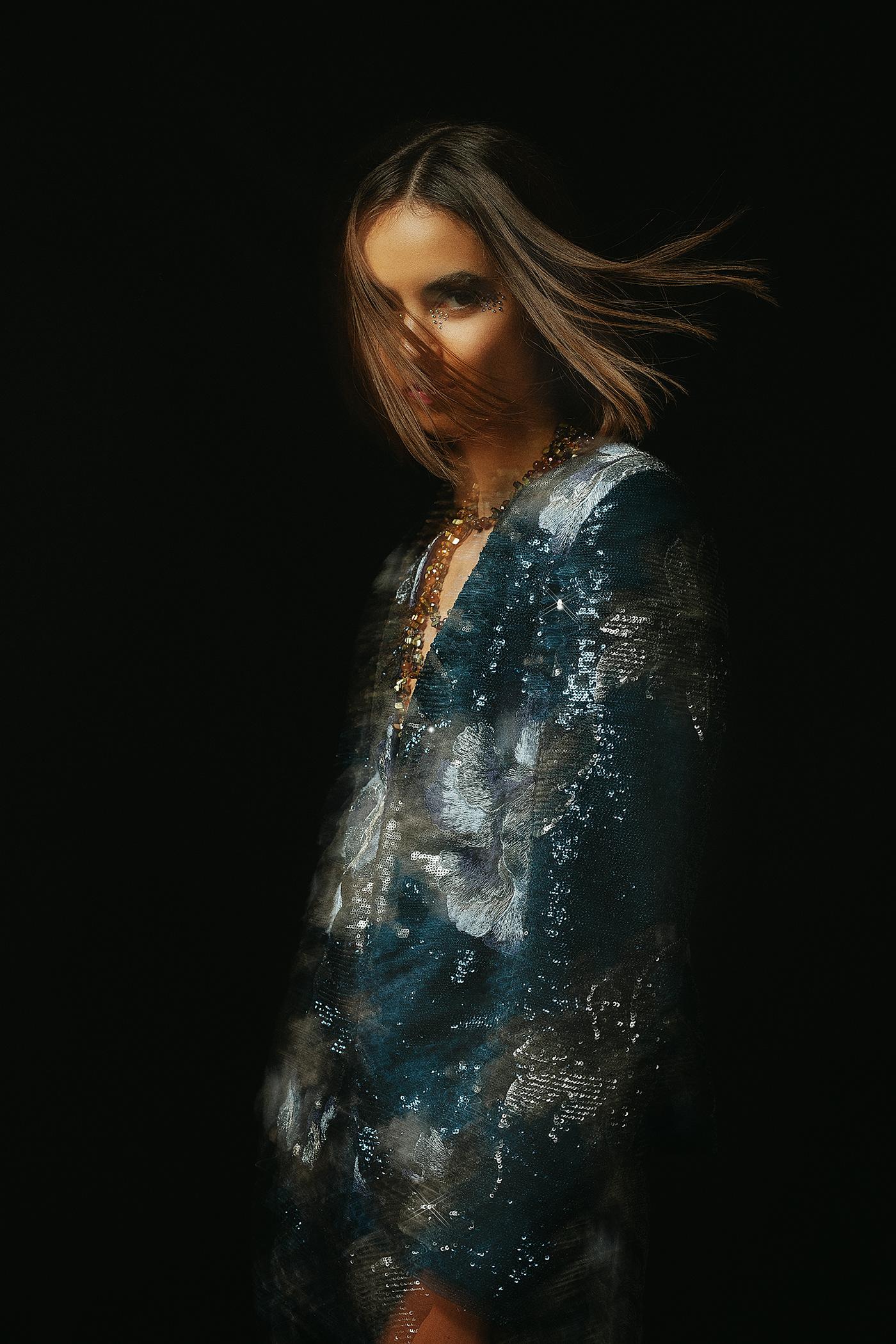 beauty Fashion  moda model portrait