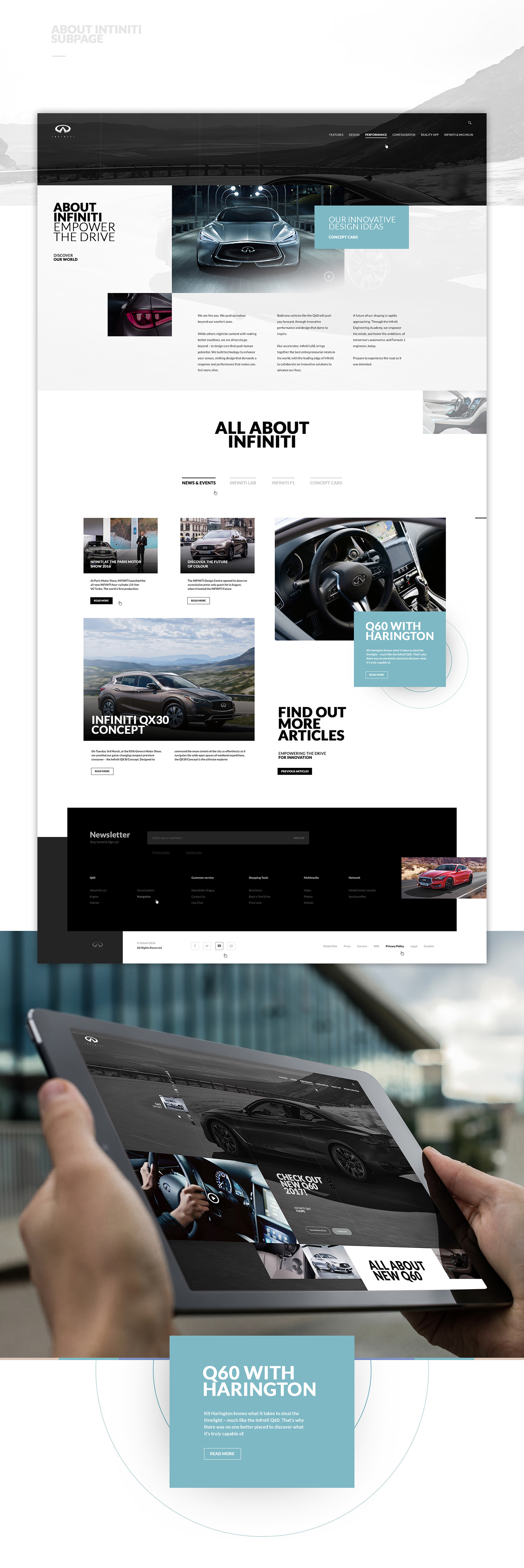 Cars infiniti q60 Website grid onepage Project vehicles Auto automobile
