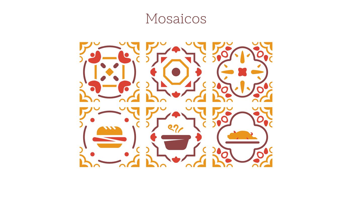 logo,restaurant,mosaic,portuguese,leitão,traditional