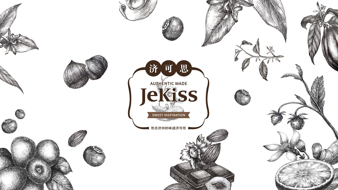 Jekiss Chocolate Branding On Behance