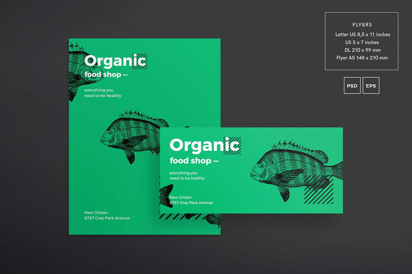 organic food shop free download design templates on behance