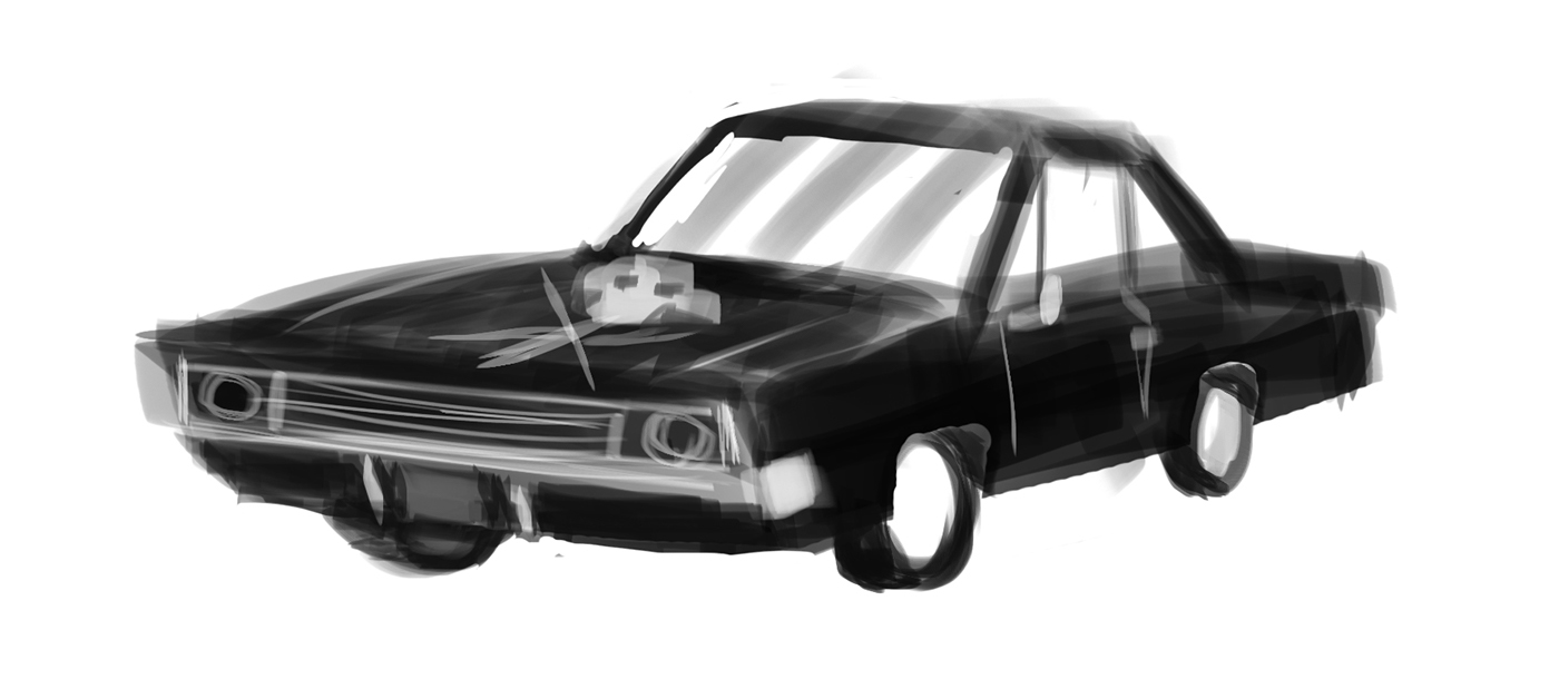 70 Chevy Nova (Movie Car #2) on Behance