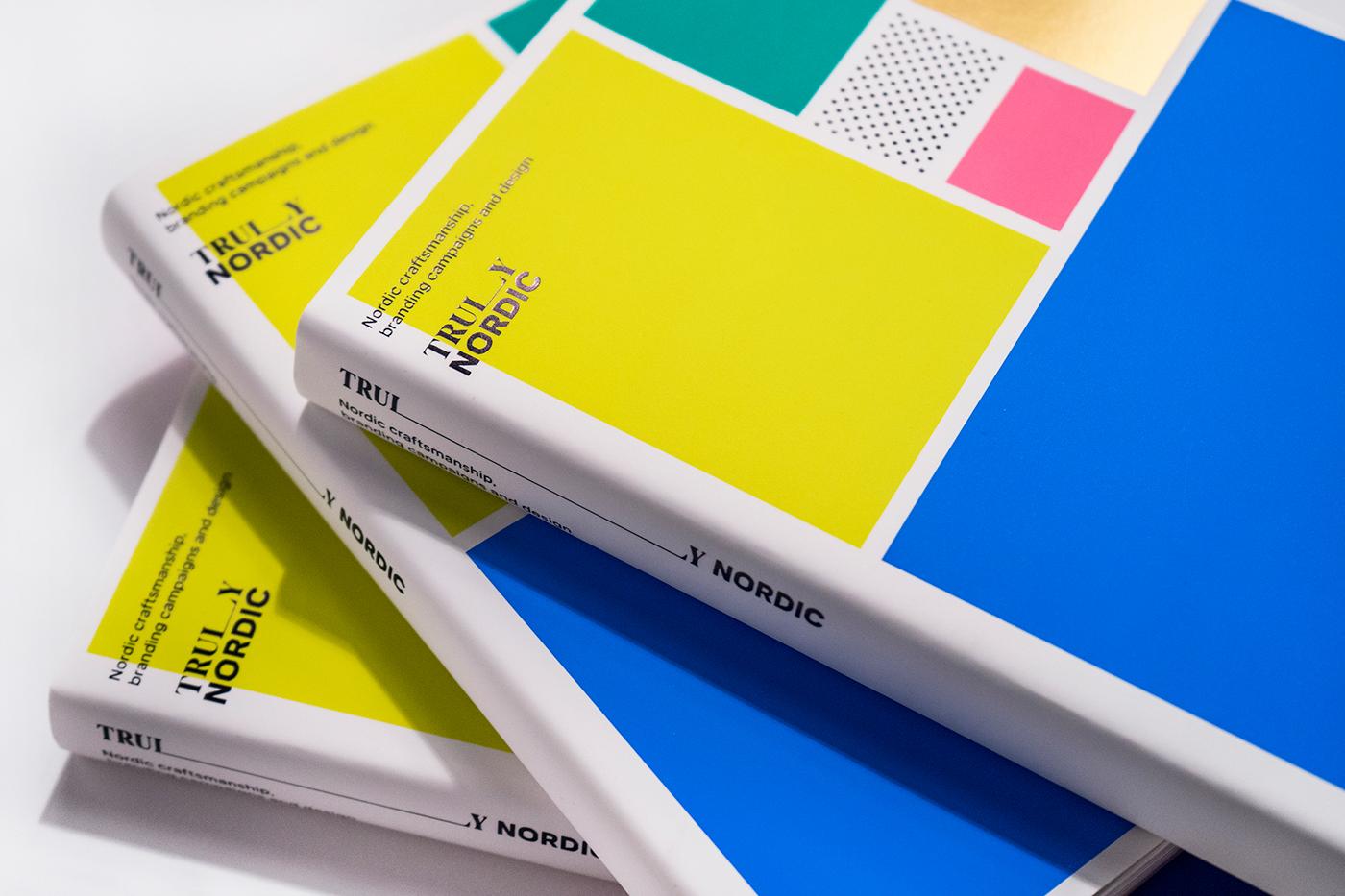nordic graphic design  branding  book editorial