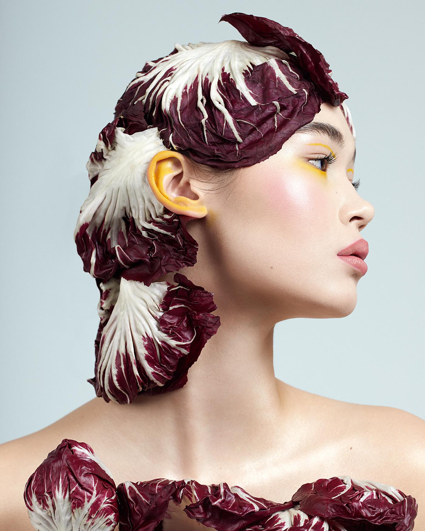 beauty Behance Canada Fashion  hair makeup Photography  retouching  studio styling