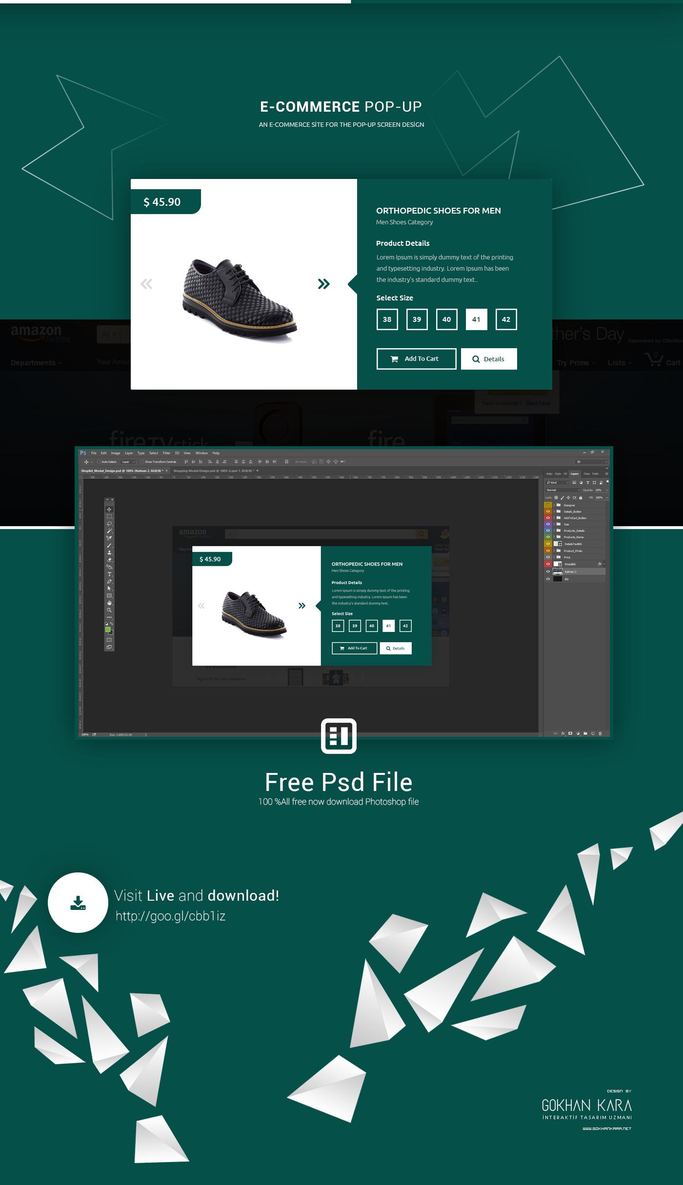 modal design,Web Interface Design,free psd,psd,free,Gökhan KARA