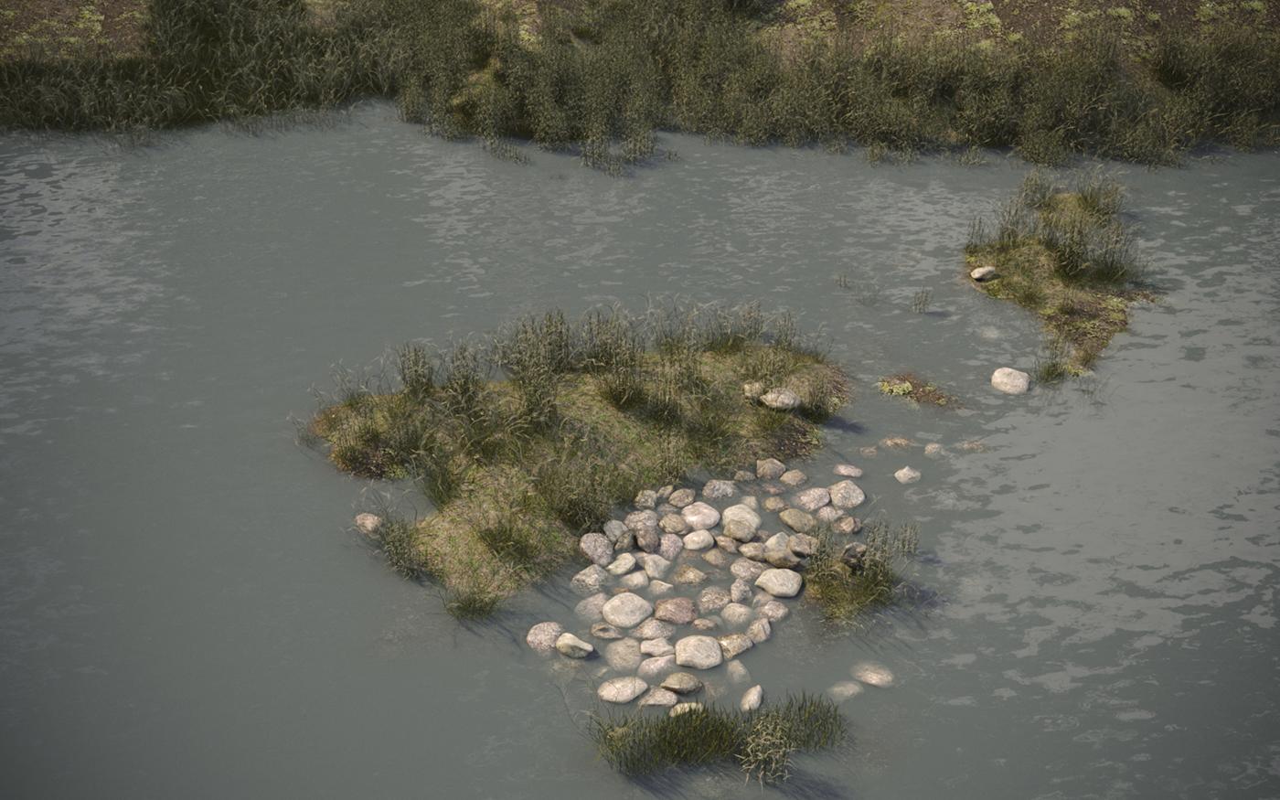 rocas rio naturaleza
