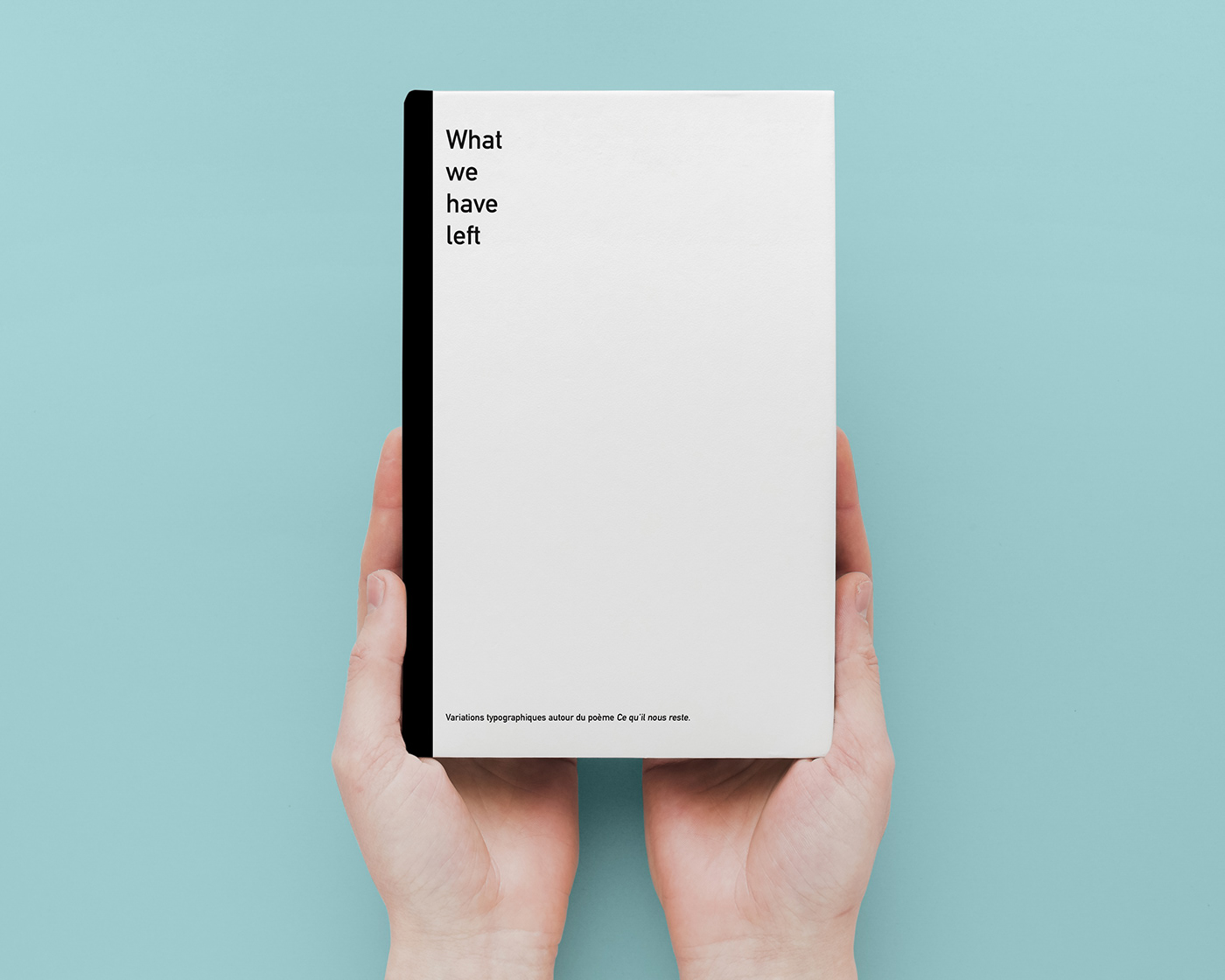 editorial design  ILLUSTRATION  minimalist design Poetry  Typographie