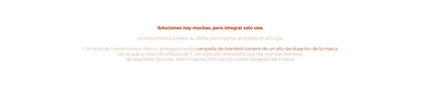 endesa,soluciones integrales,branded content,Web,Art Director,tv,Web Design
