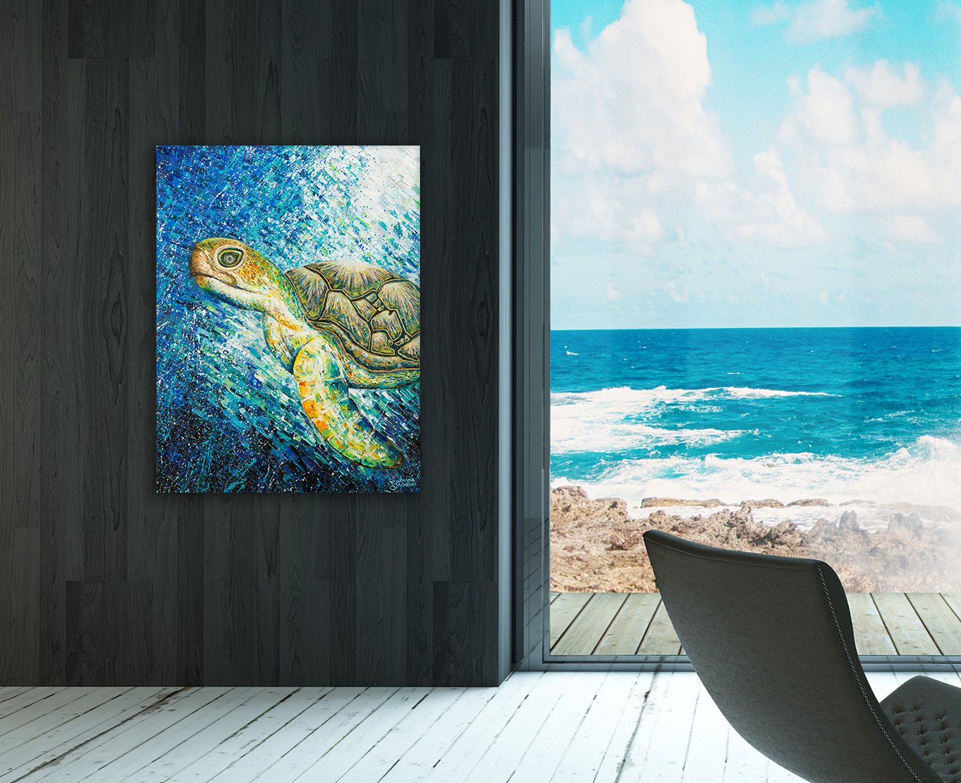 painting   FINEART fineartbrisbane fineartaustralia brisbaneartist brisbanepainter turtlepainting behanceartist