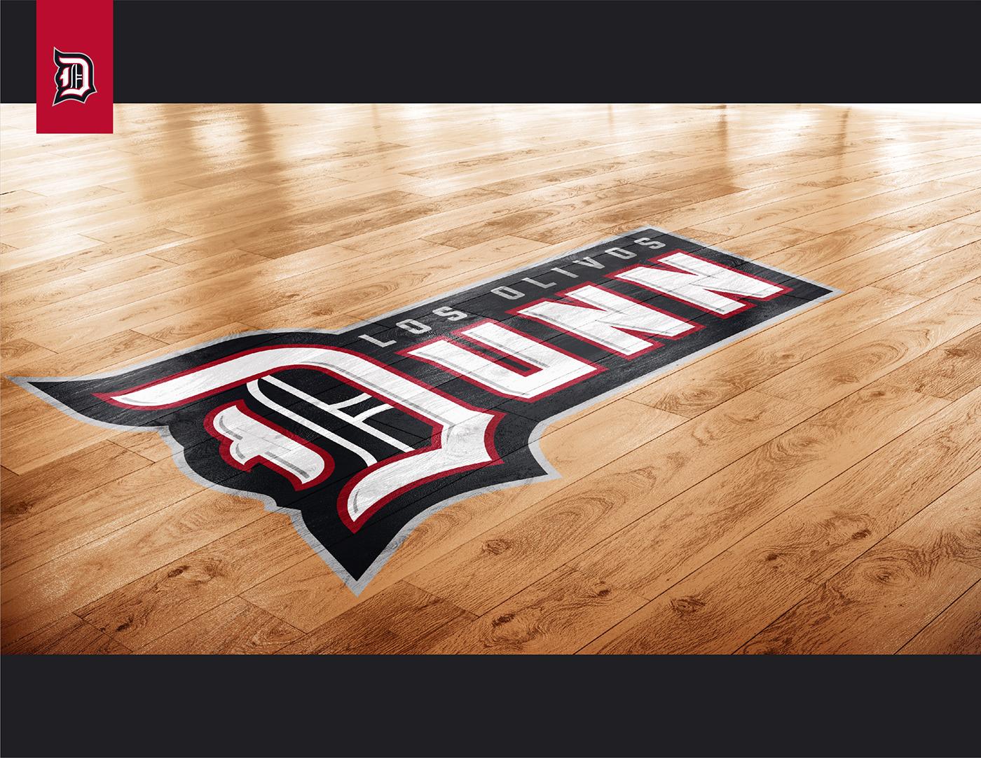 sports athletics branding  school Mascot High School Califrornia