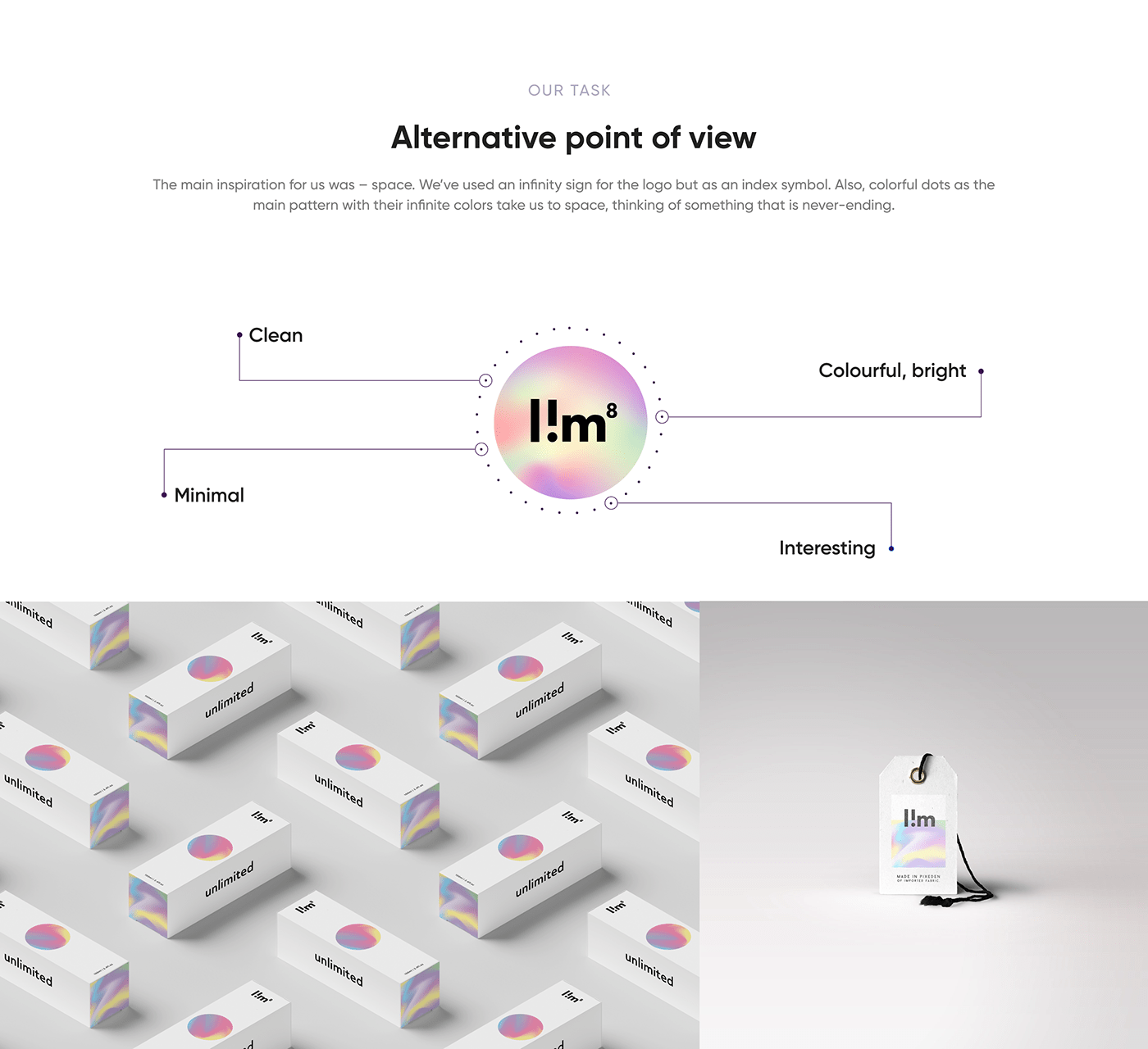 brand identity branding  clean identity logo logobook minimal modern Packaging typography