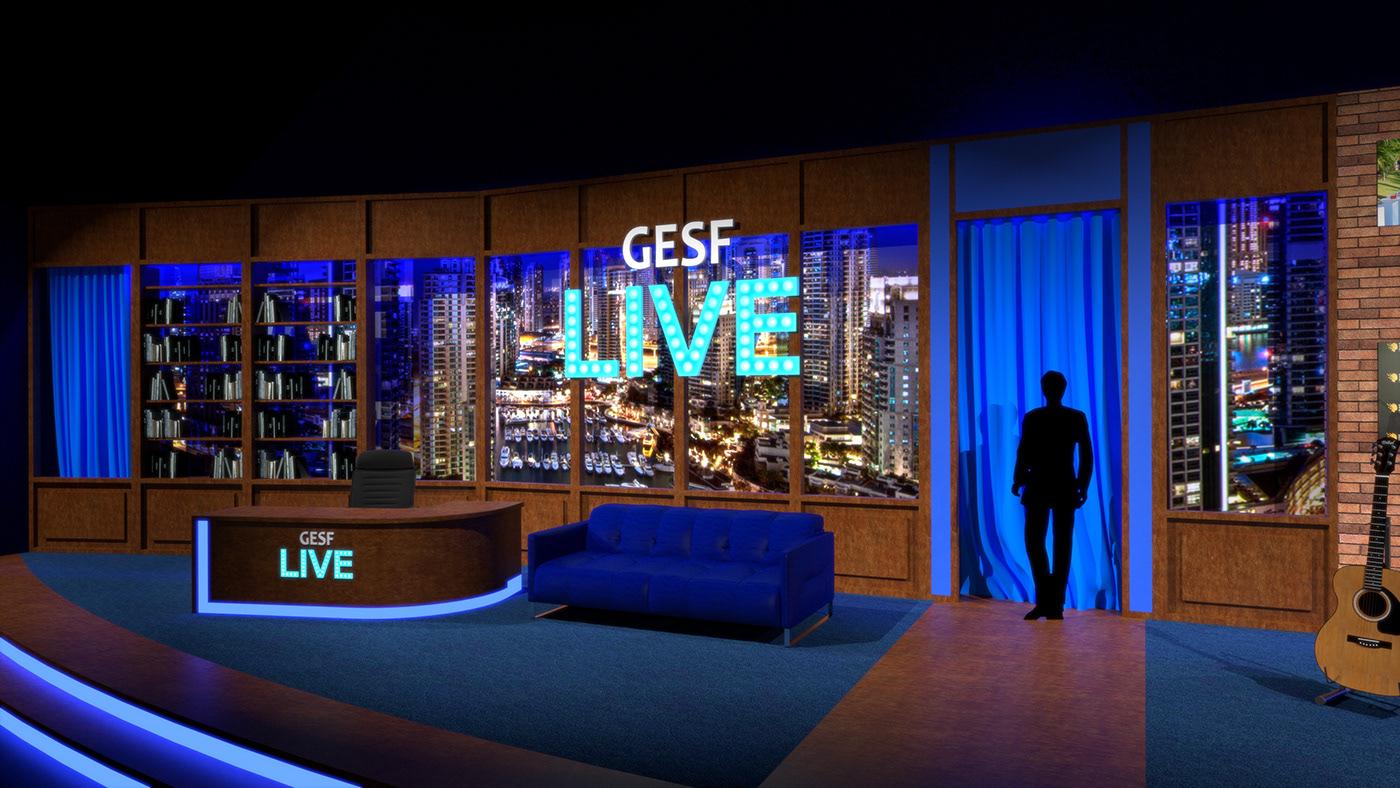 Show 3d design studio design set design  Event Design STAGE DESIGN