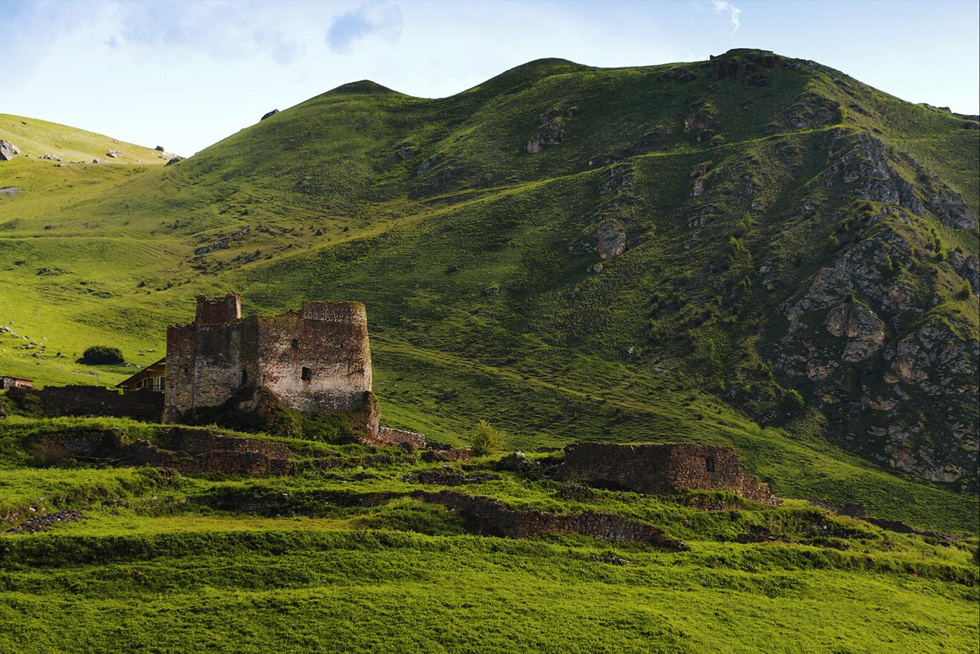 drone,drone film,Film  ,Landscape,Nature,Ossetia,vimeo
