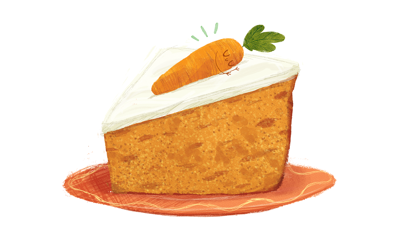 Caramelized Carrot Cake