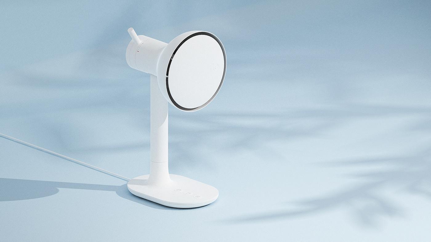 deskfan fan industrial design  product design