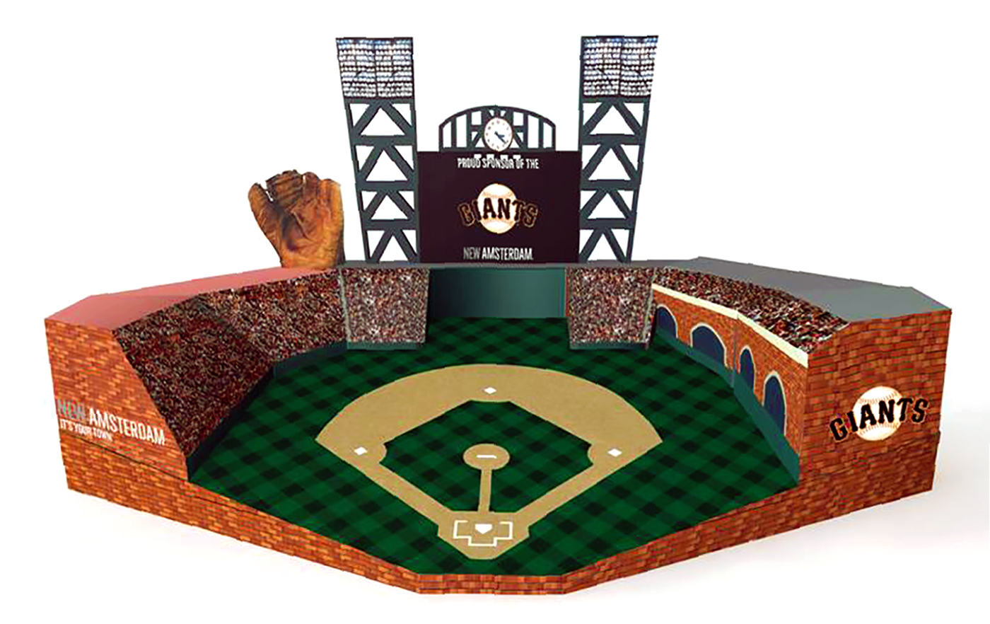 marketing elements,corrugate,baseball,alcohol,Spirits,structural design,conceptual design,dieline