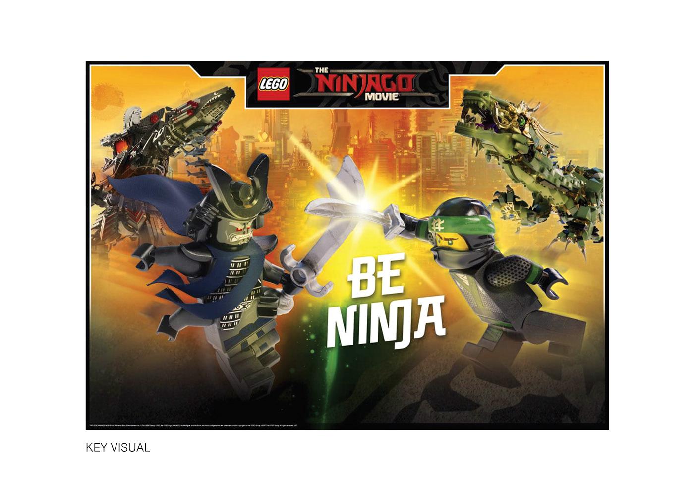 lego® ninjago on behance