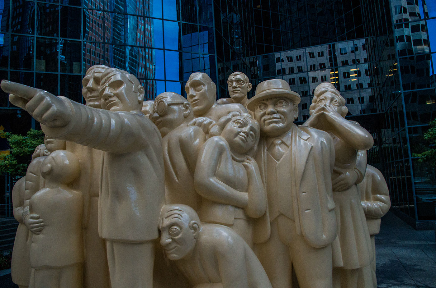 Street sculpture.