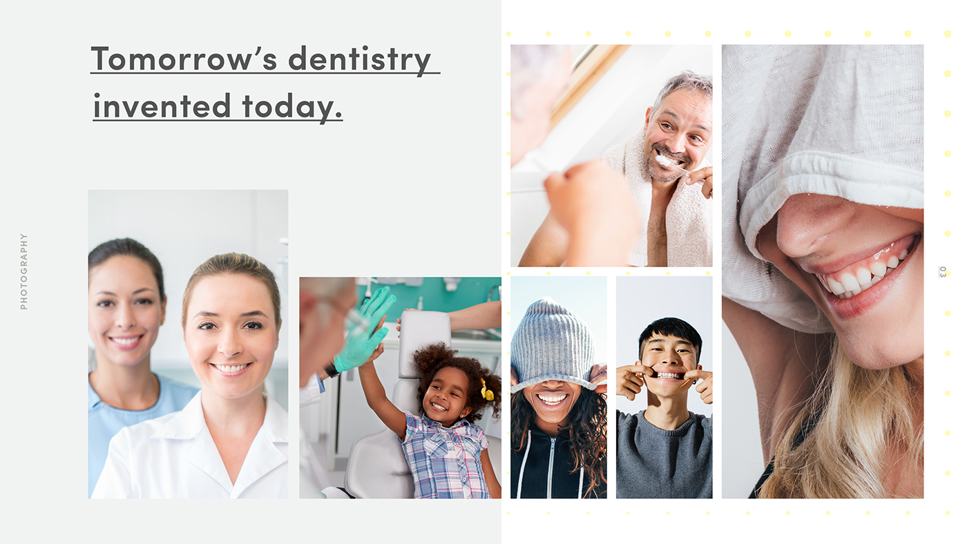 branding  brand identity logo graphic design  art direction  Patterns dental services healthcare