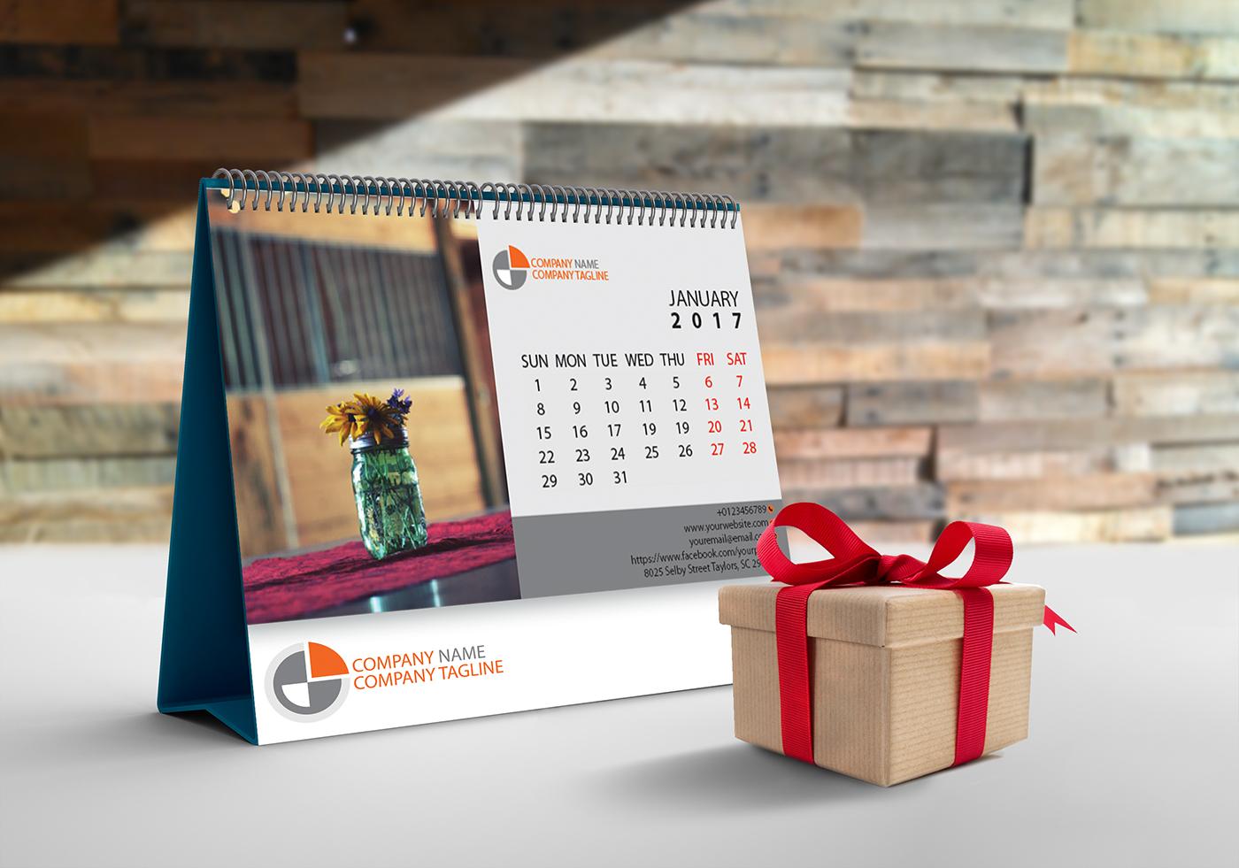 有美感的36套月曆設計欣賞