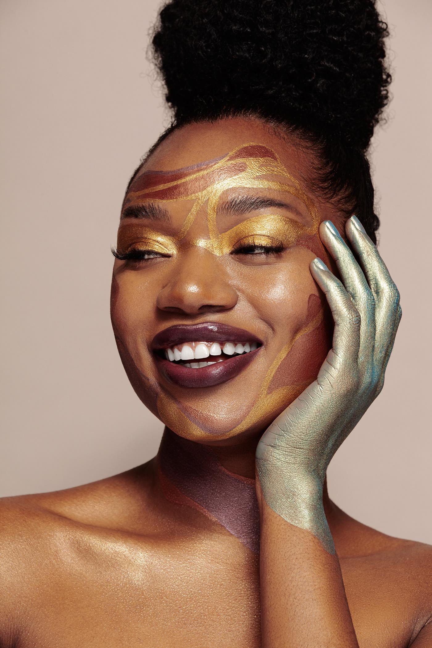 beauty beauty photography beauty retouch editorial Fashion  makeup maquillaje model Photography  portrait