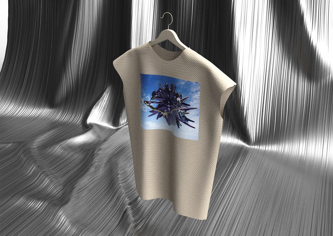 weird shirt 3D