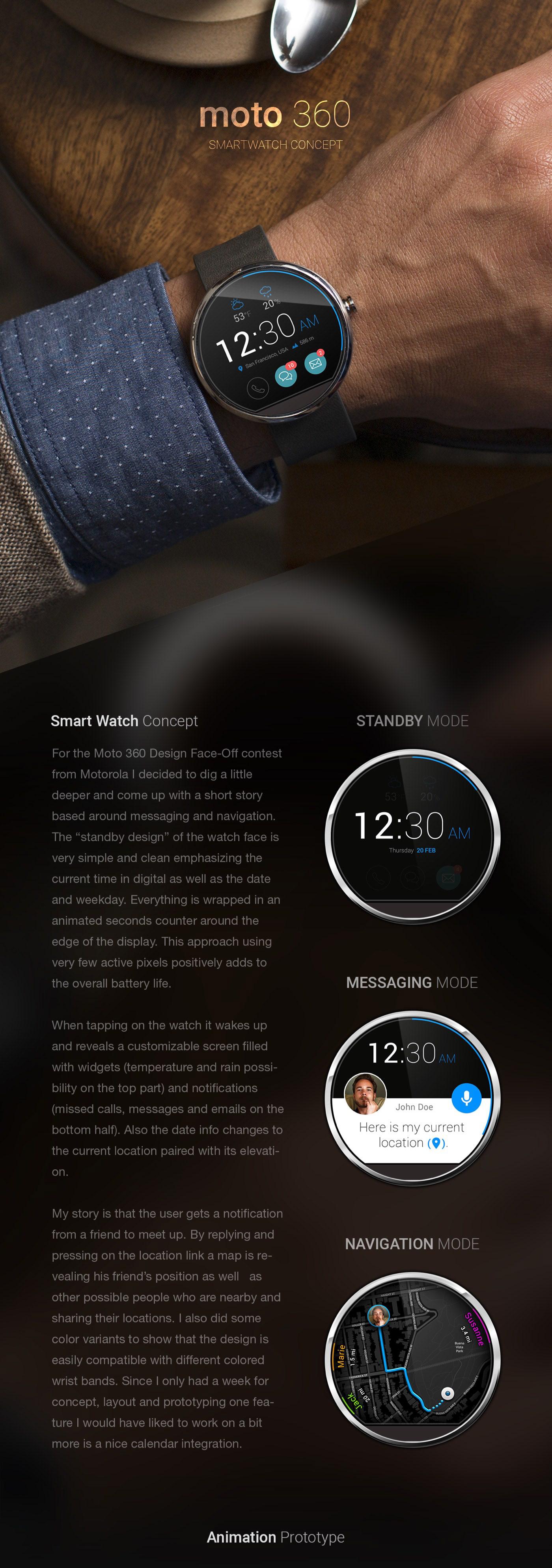 moto360 smart watch