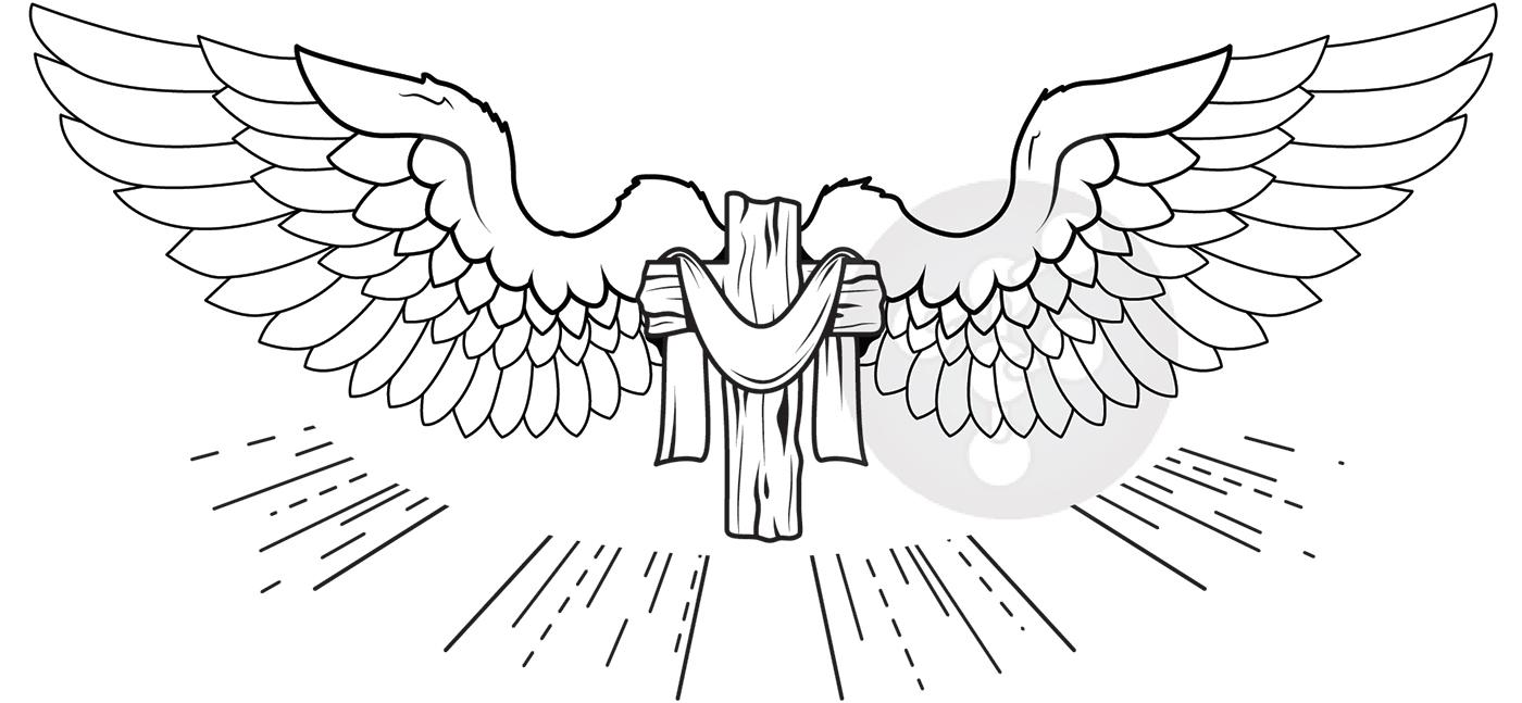 有獨特感的12張十字架刺青欣賞
