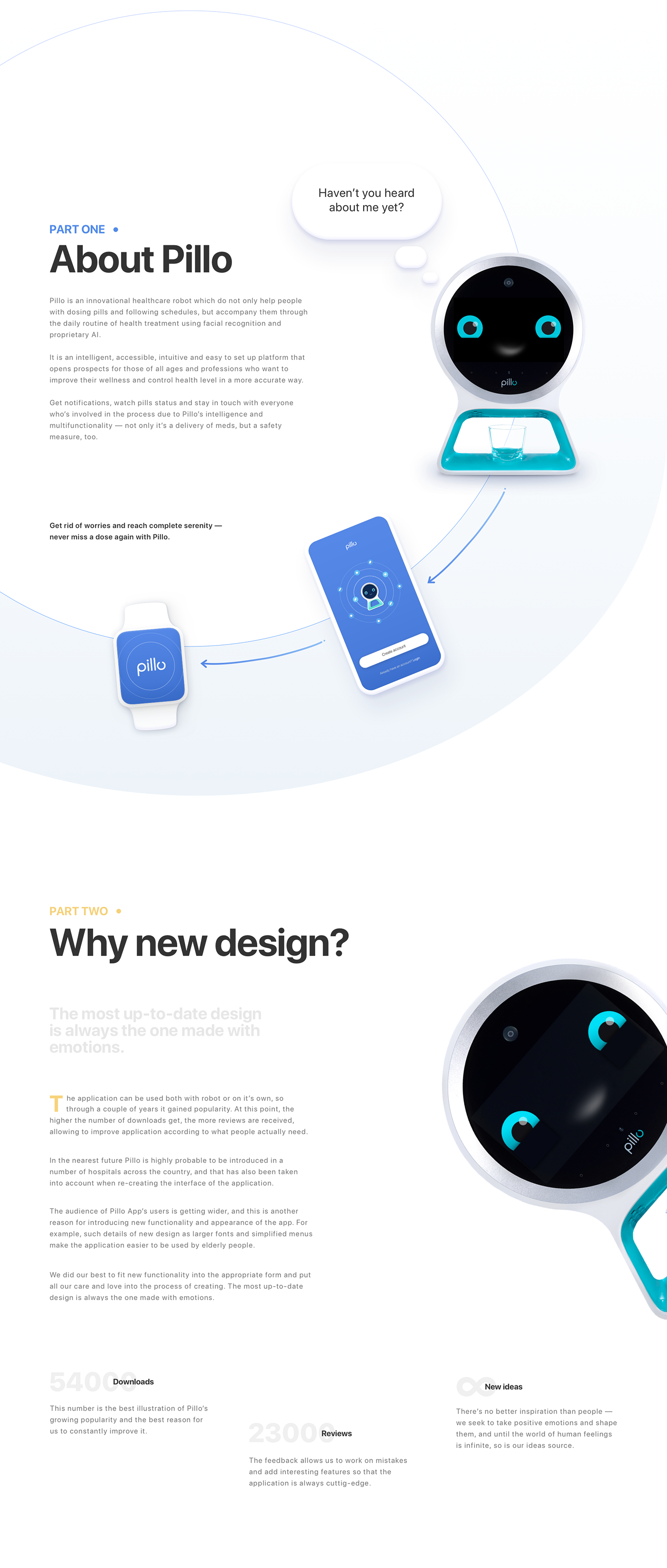 ios,android,medicare,healthcare,robot,ux,UI,redesign,digital design,agca