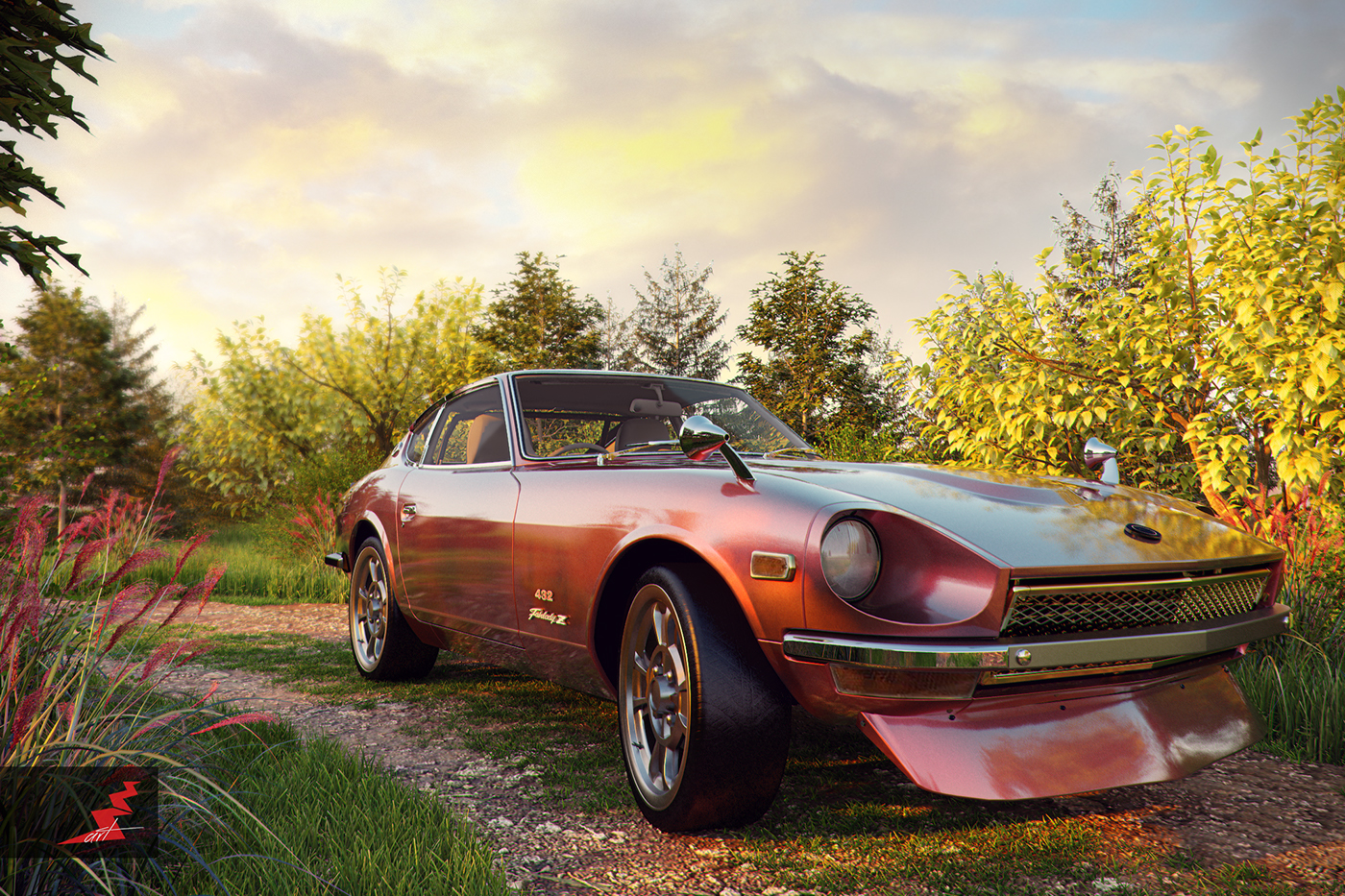 1969 Nissan Fairlady Z 432 Ps30 On Behance