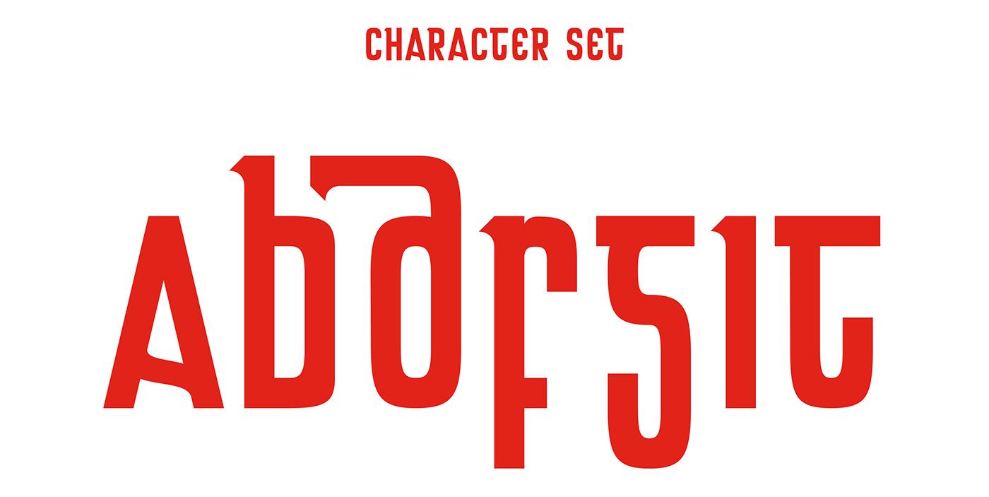 Bráthair Typeface on Behance