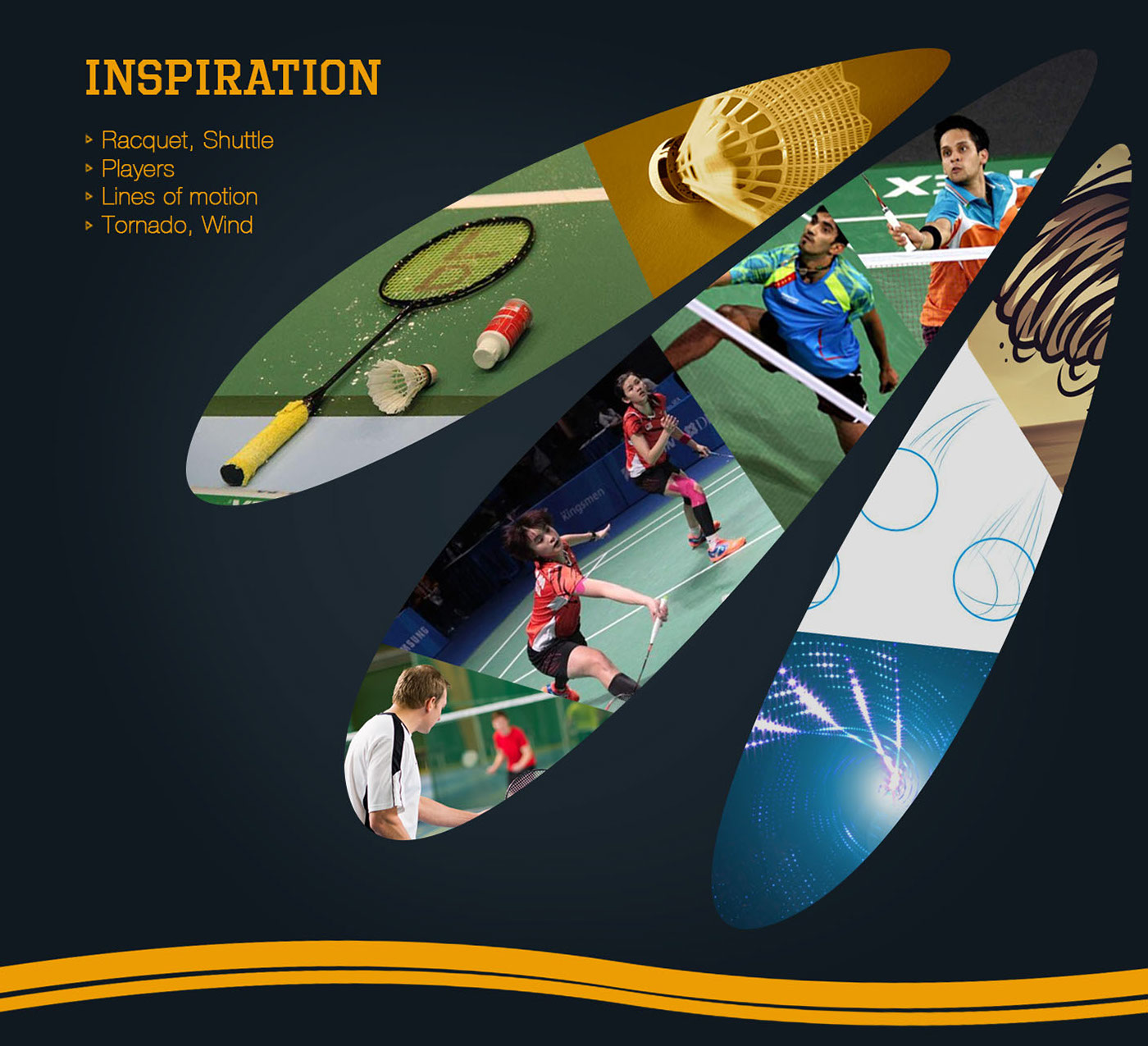 Logo Design: Badminton Club on Behance