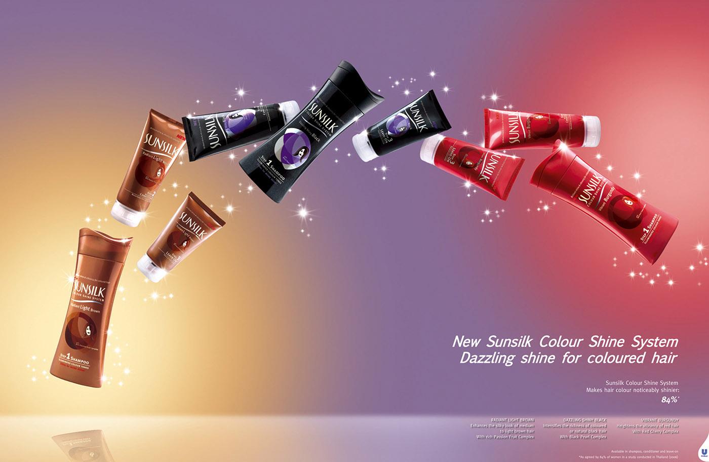 Sunsilk Magazine Ads on Behance