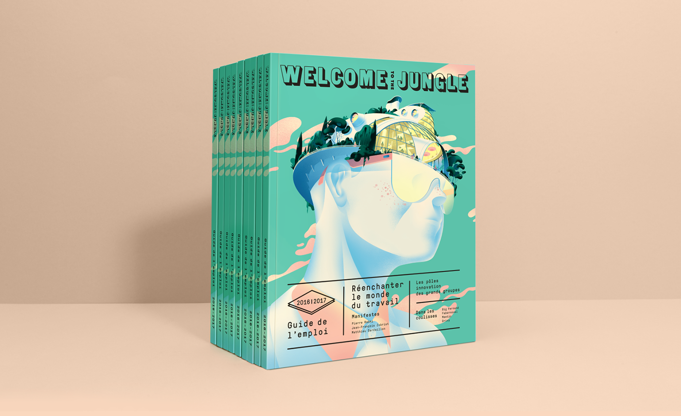 welcome Violaine & Jeremy green city Guide pink Nature type font Cruschiform