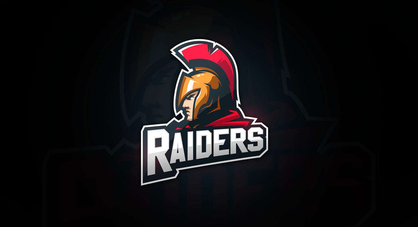 raiders team logo on behance