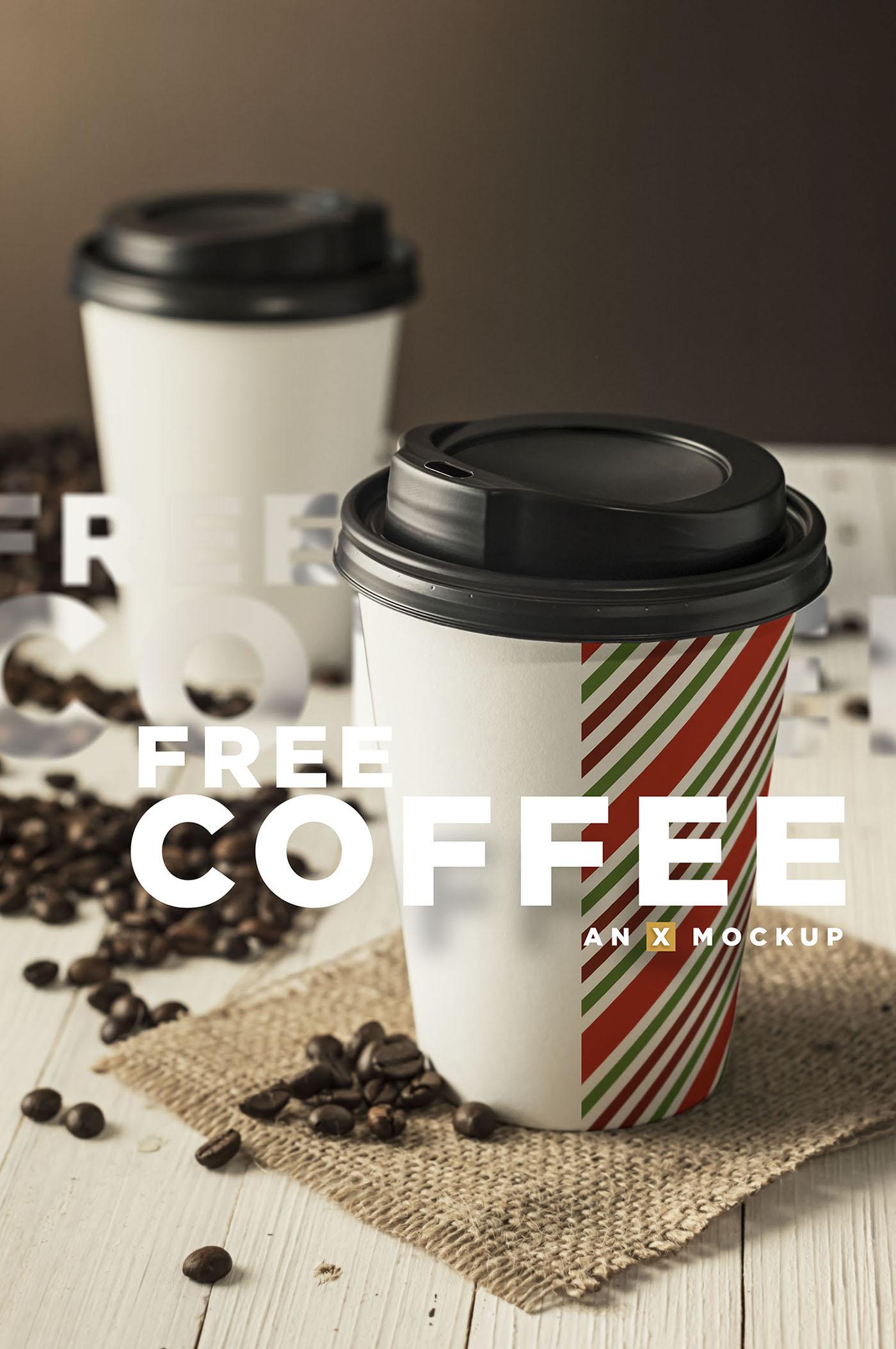 Coffee Branding Mockup Free on Behance
