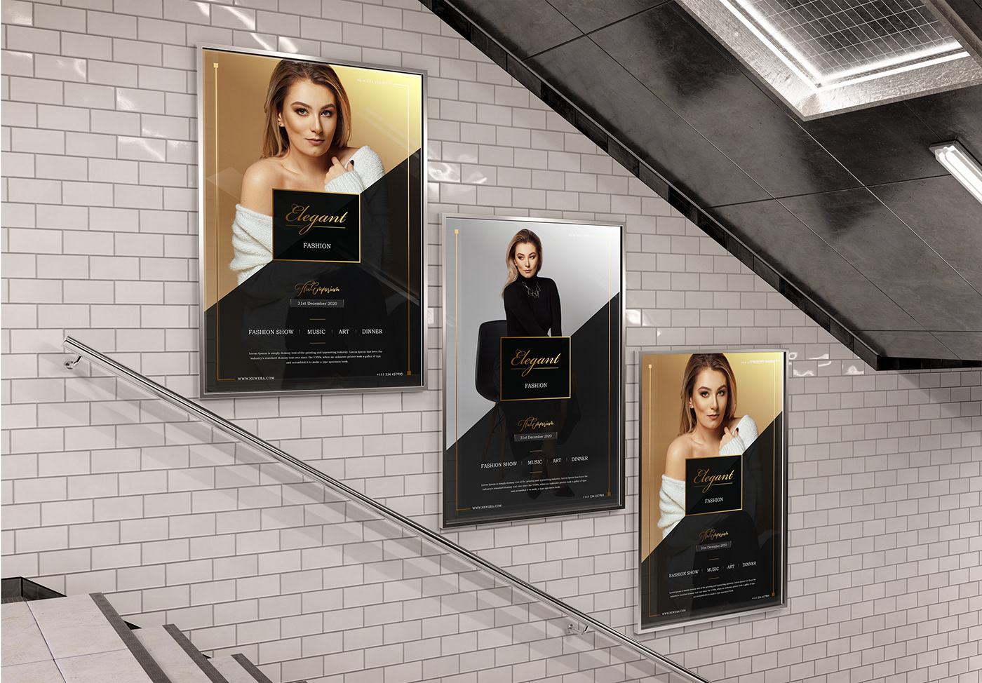 advertisement clothes dress flyer fashion flyer Flyer Design free download poster psd file