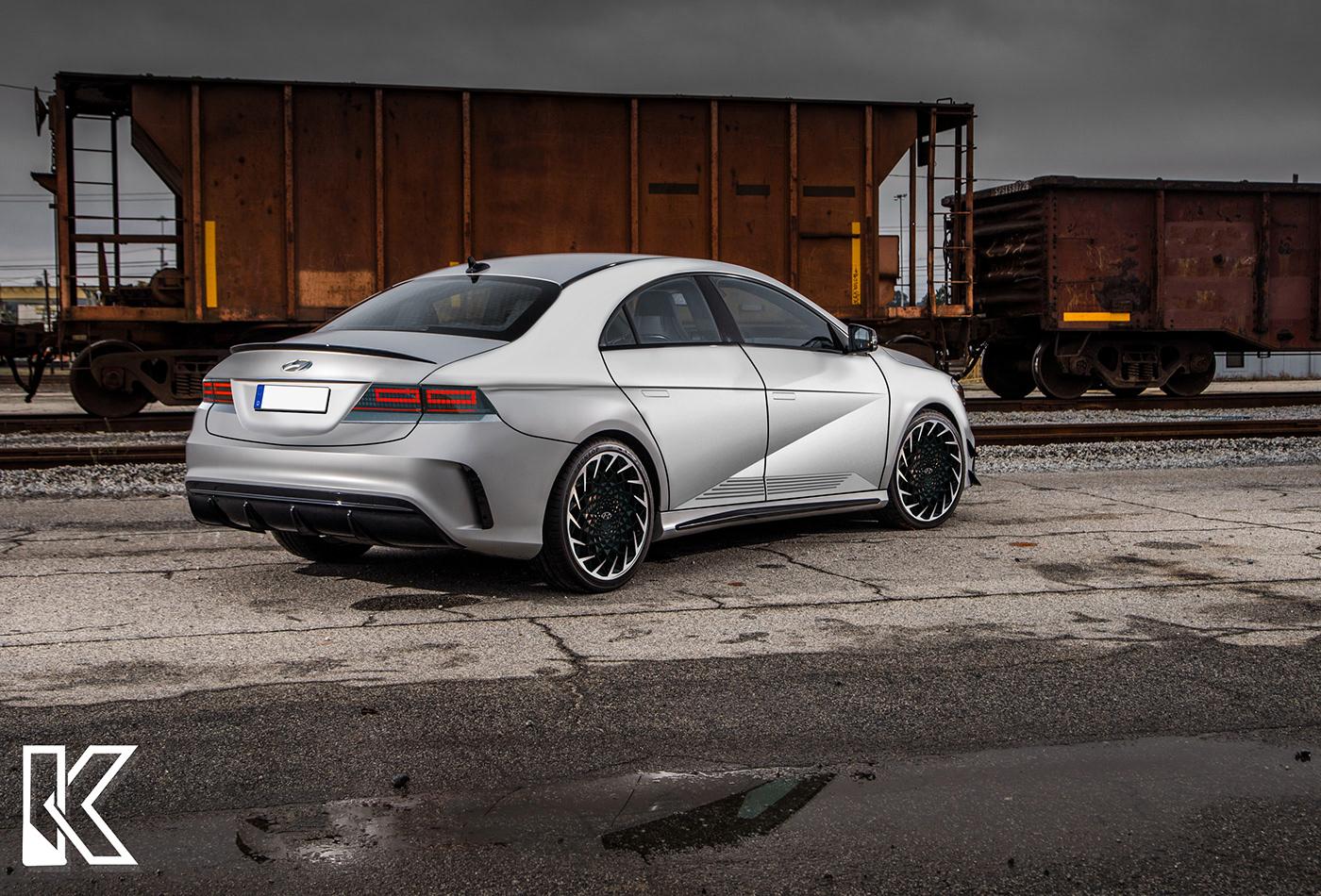 Automotive design rendering