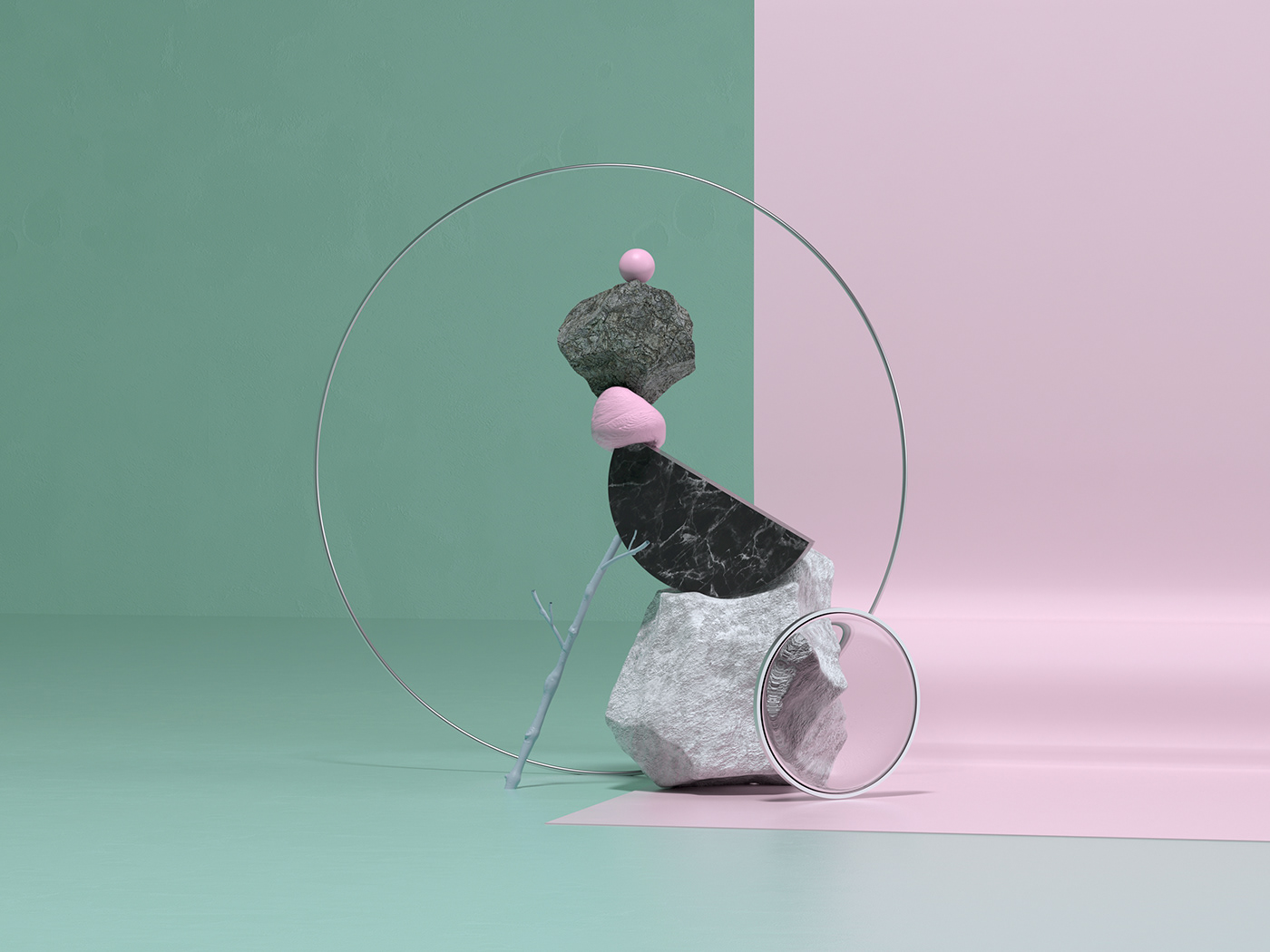 Rocky Compositions on Behance