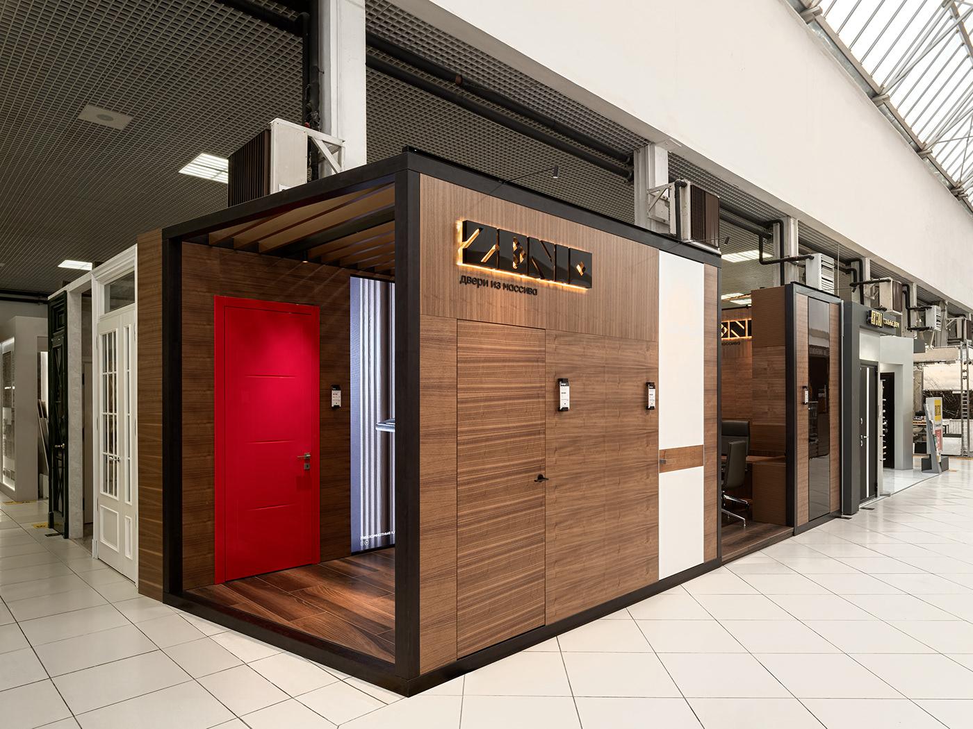 Doors granum Interior projecting Retail the granum zenio